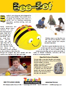 Bee-Bot Product Sheet