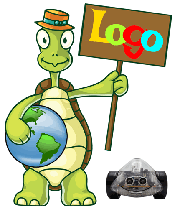 Terrapin Logo turtle with InO-Bot